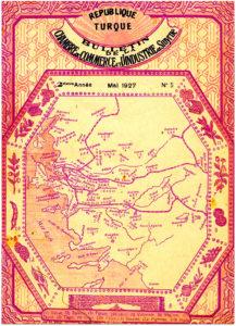 T. C. İzmir Ticaret ve Sanayi Odası Mecmuası - Rébuplique de Turque Bulletin de la Chambre de Commerce et d'Industrie de Smyrne